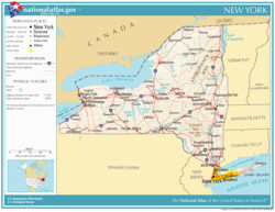 geography of new york state wikipedia