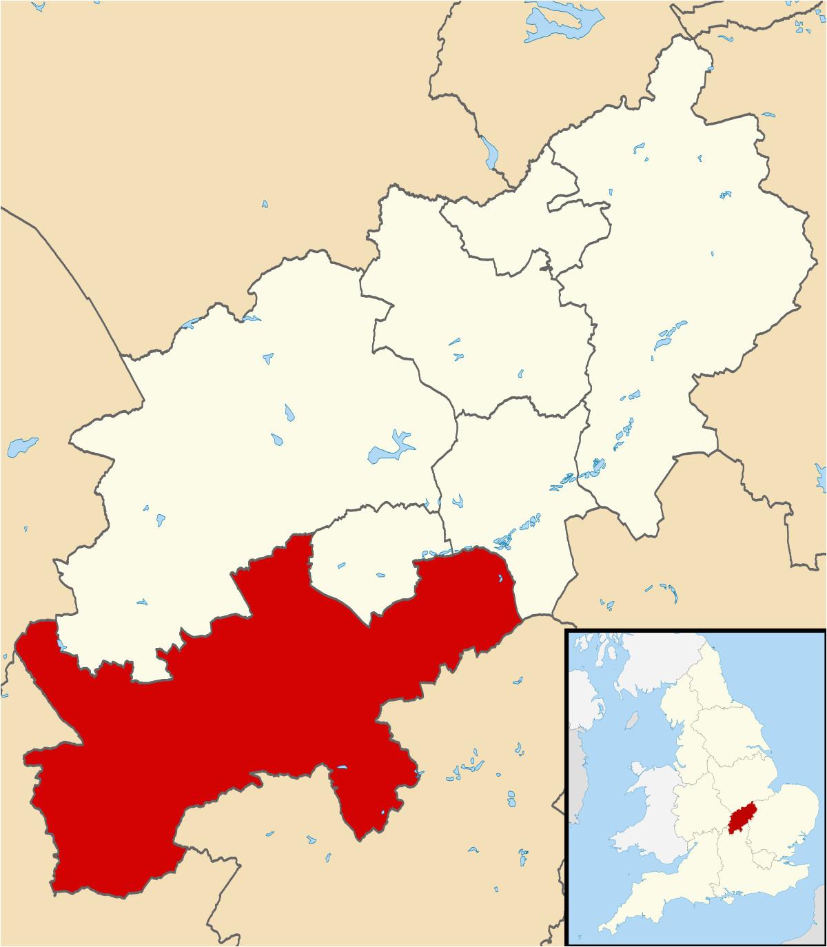 south northamptonshire wikipedia