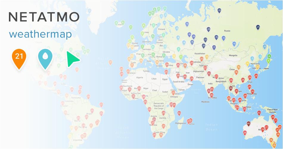 netatmo weathermap