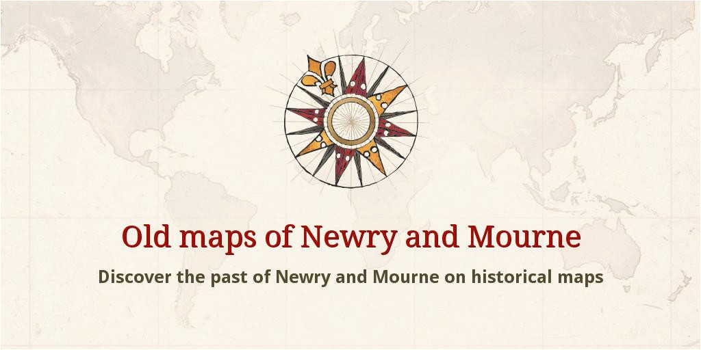 old maps of newry and mourne