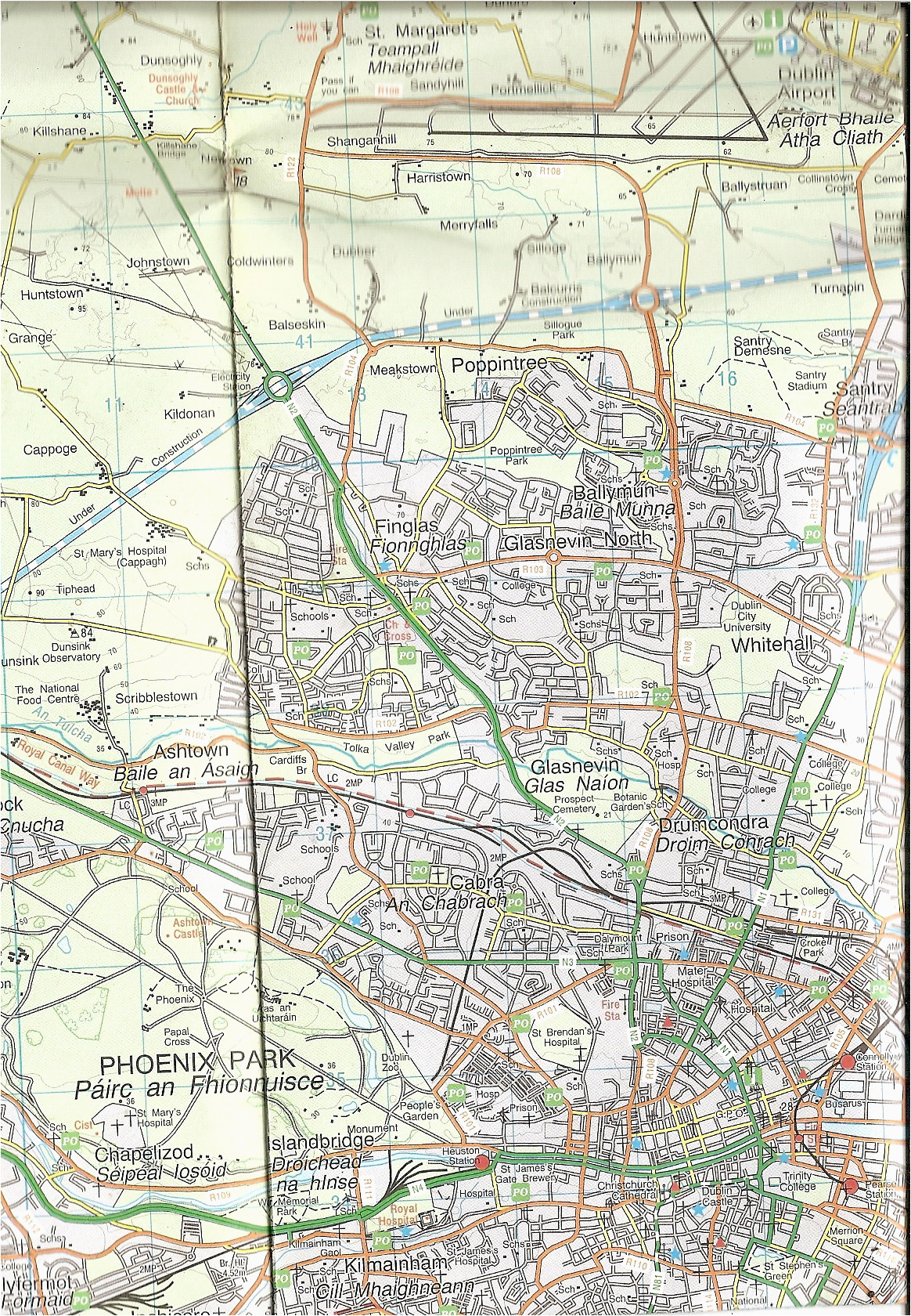 Os Map Ireland Dublin Archives From Ireland Net