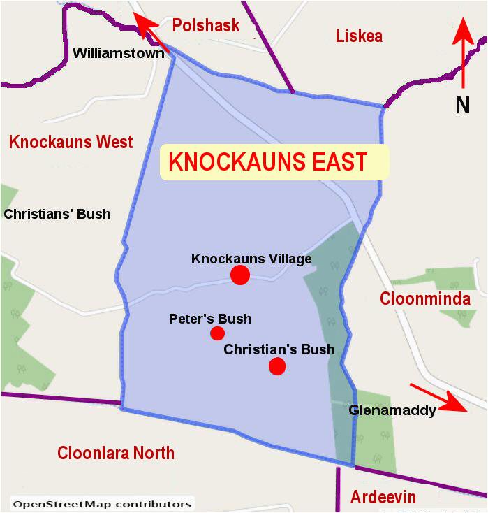 knockauns east