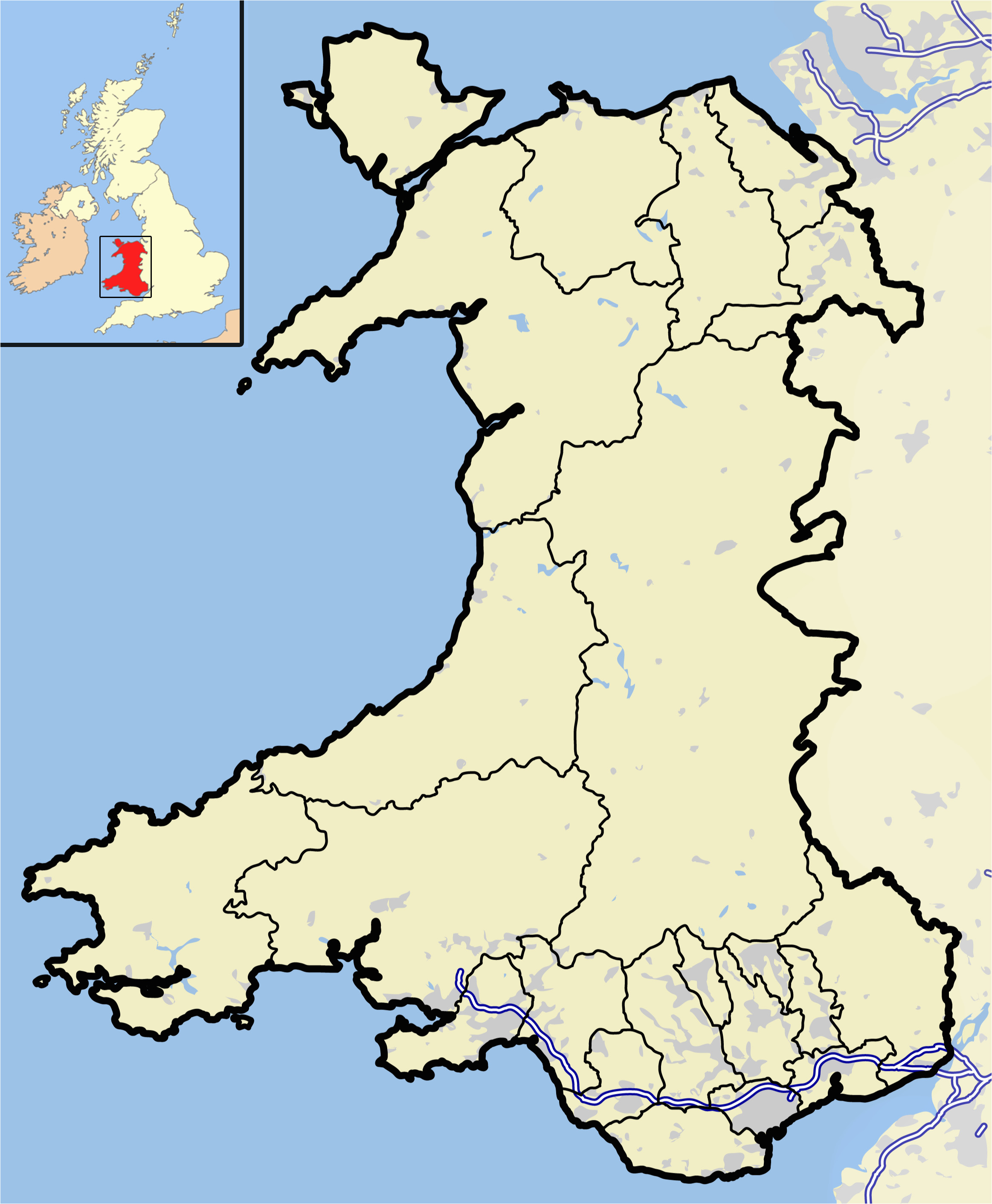 file wales outline map with uk png wikimedia commons