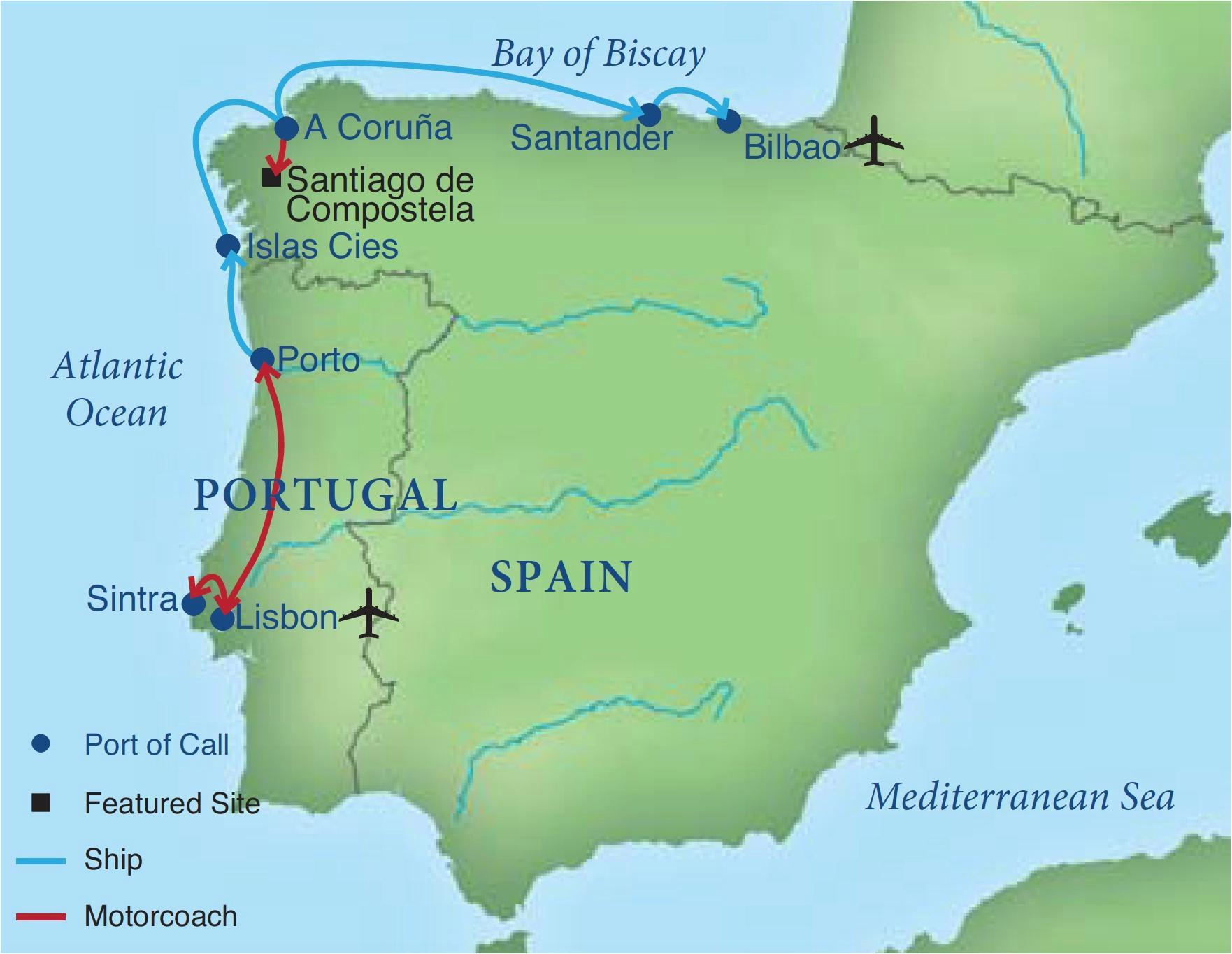sailing the coast of iberia smithsonian journeys