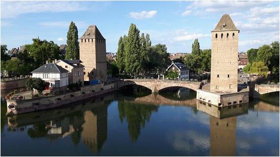 blick auf petite france picture of barrage vauban strasbourg