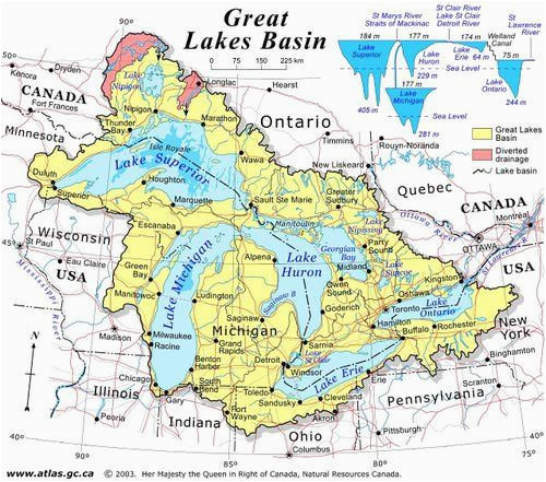 discover canada with these 20 maps in 2019 ideas great lakes map
