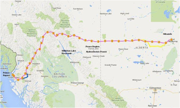 Pipeline Map Canada Image Result for Eagle Spirit Pipeline Map Canada Investing