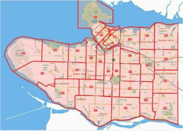 Postal Code Map Ontario Canada Vancouver Bc Zip Code Map Woestenhoeve