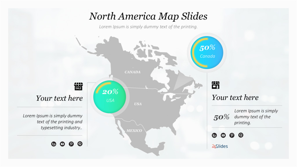 new collection of canada powerpoint template free