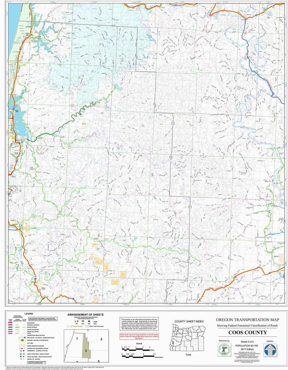 printable road map northeast and travel information united states
