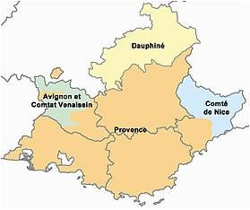 Provence Region Of France Map Provence Wikipedia