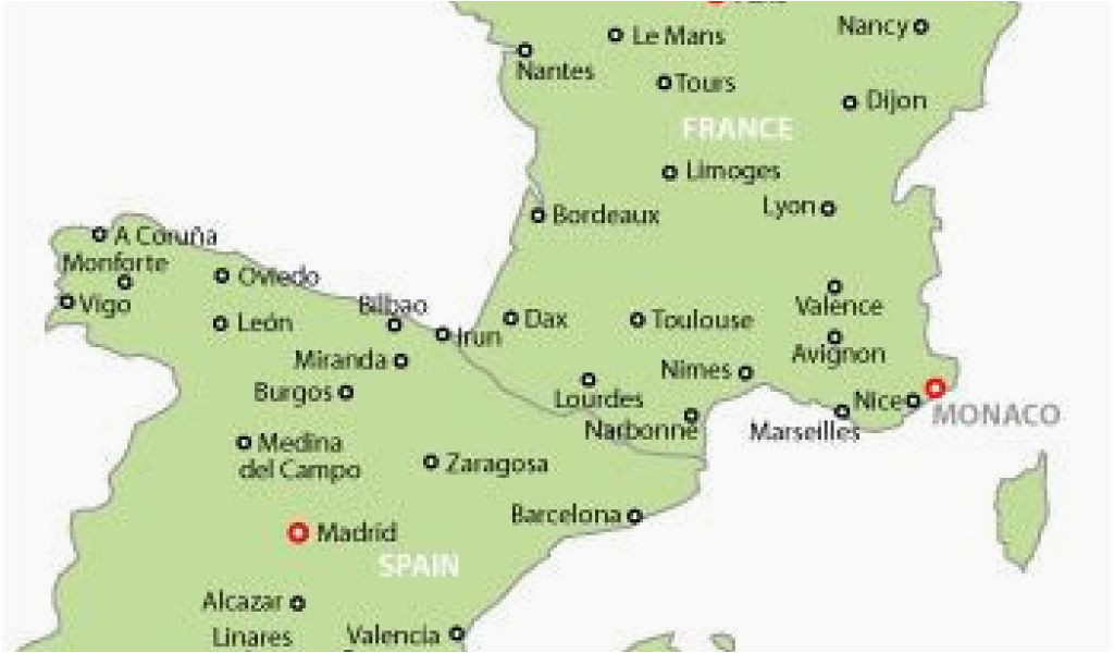 map of france and spain and italy map of france and spain map of