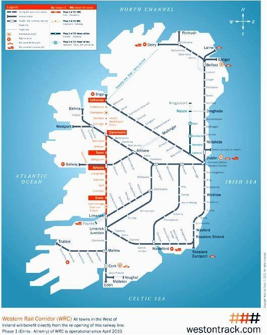 irish rail map 2010 grannymar travel train map travel
