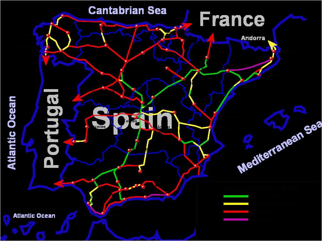 100 spanish railway map yasminroohi