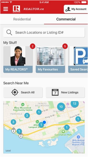 realtor ca real estate homes im app store