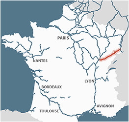 rhone rhine canal detailed navigation guides and maps