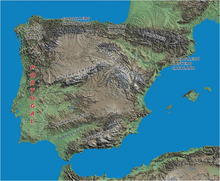 geography the spanish biker
