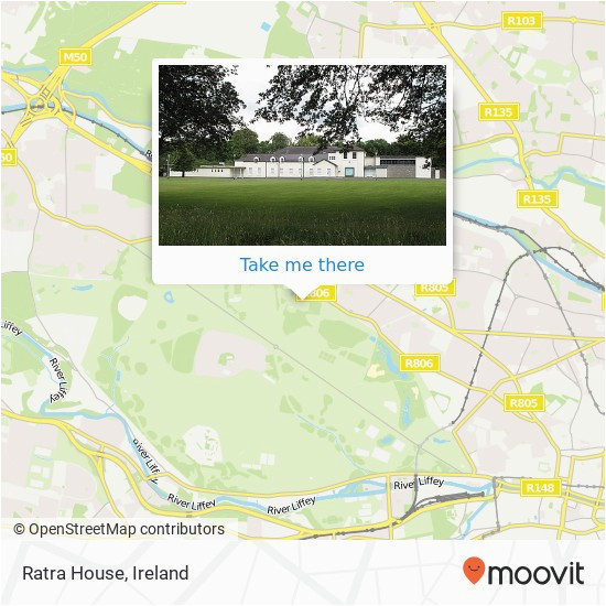 how to get to ratra house in dublin by bus train or light rail moovit