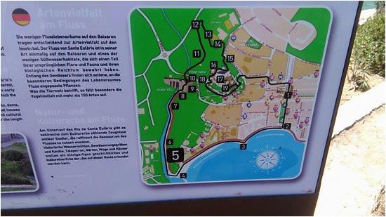 santa eulalia river map guide 2016 picture of santa
