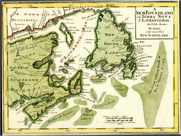 early cartography of newfoundland and labrador