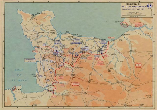 image result for normandy map ww2 battle maps normandy map map