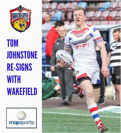 map sports are delighted to announce that tom johnstone has