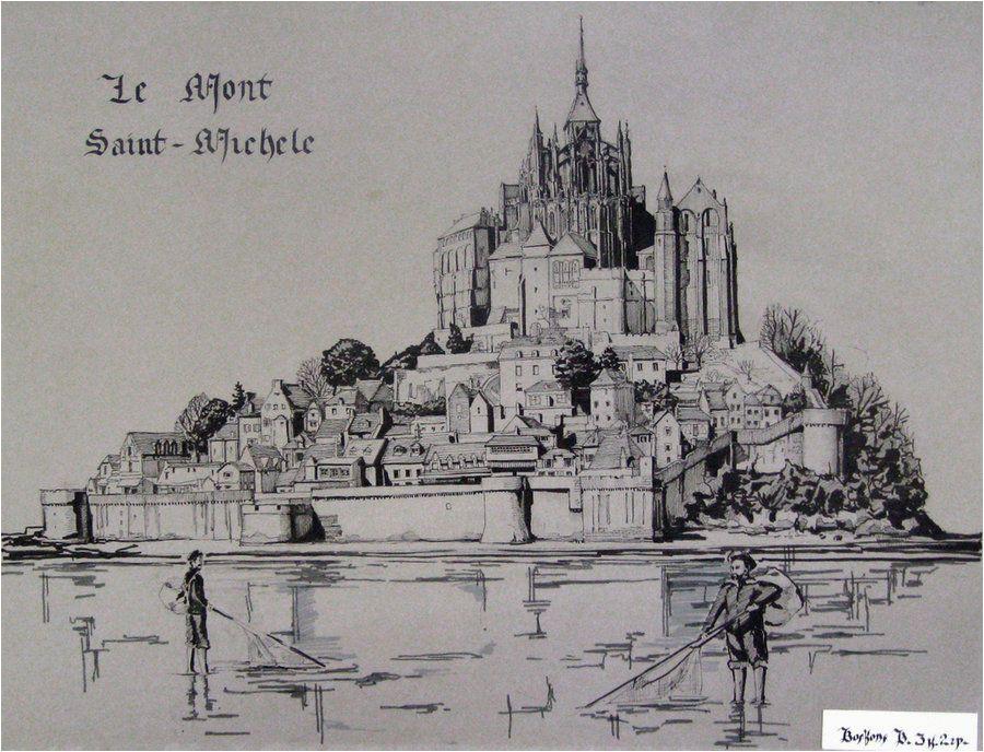 mont saint michel by extry on deviantart architecture