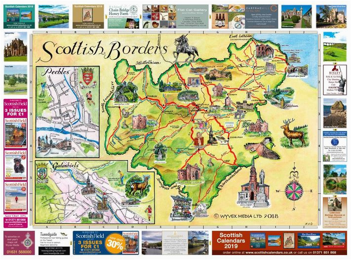 scottish borders map 2018 the oban times