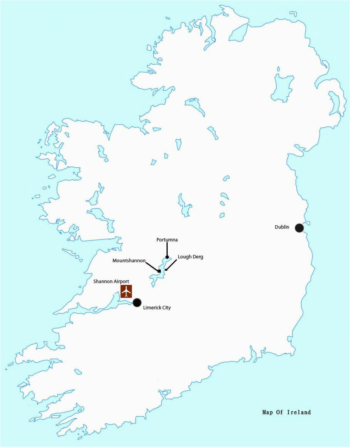 map of ireland shannon airport unsecureflight nl