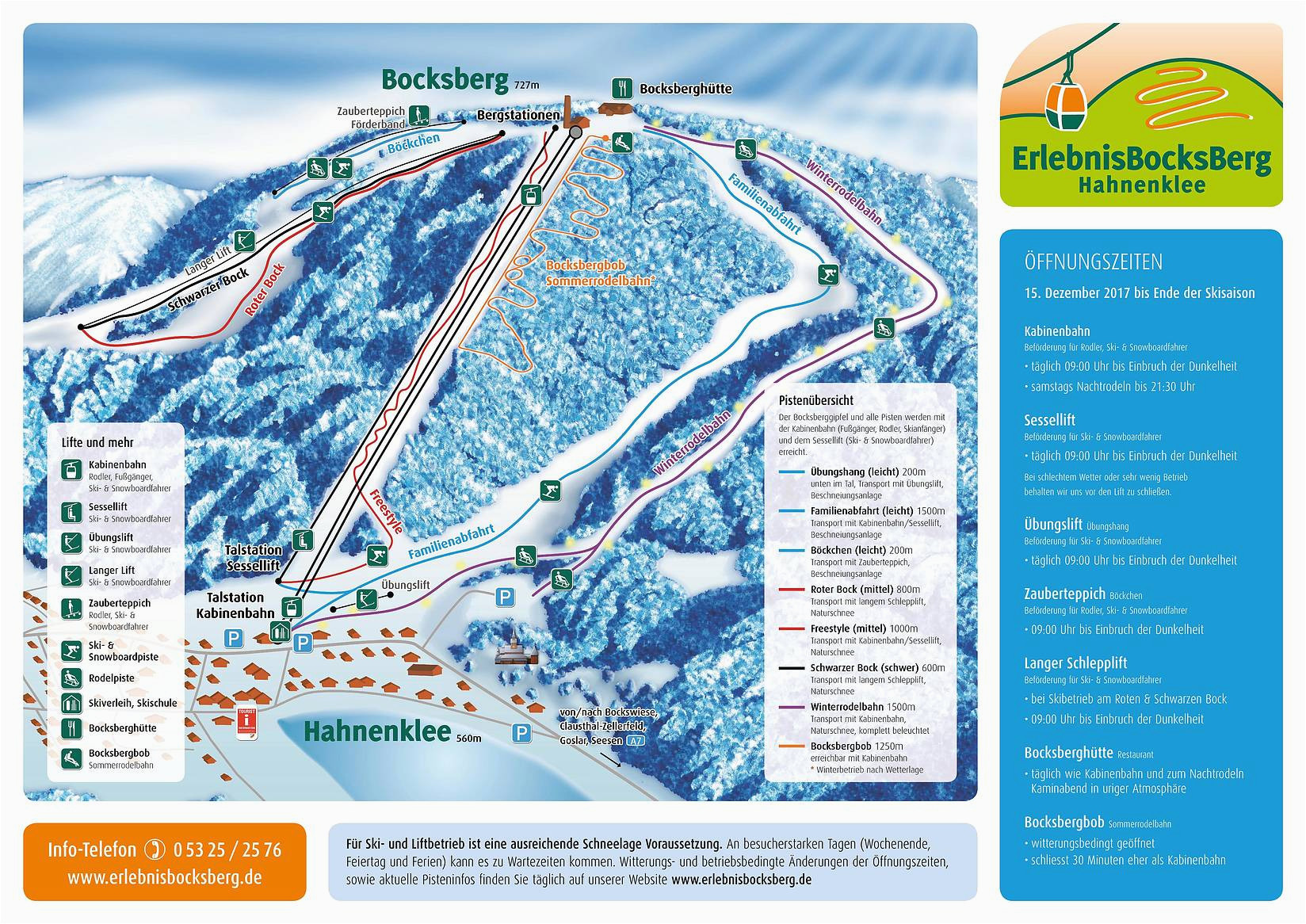 bergfex piste map bocksberg hahnenklee panoramic map