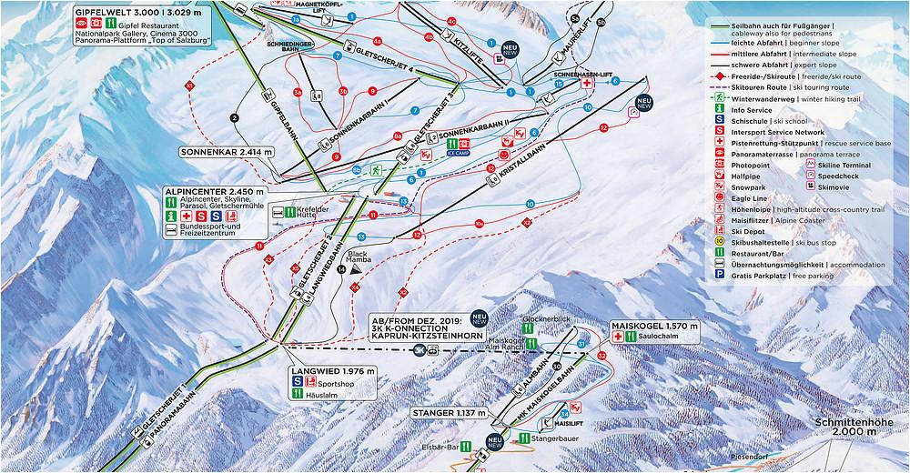 bergfex ski resort kitzsteinhorn kaprun skiing holiday