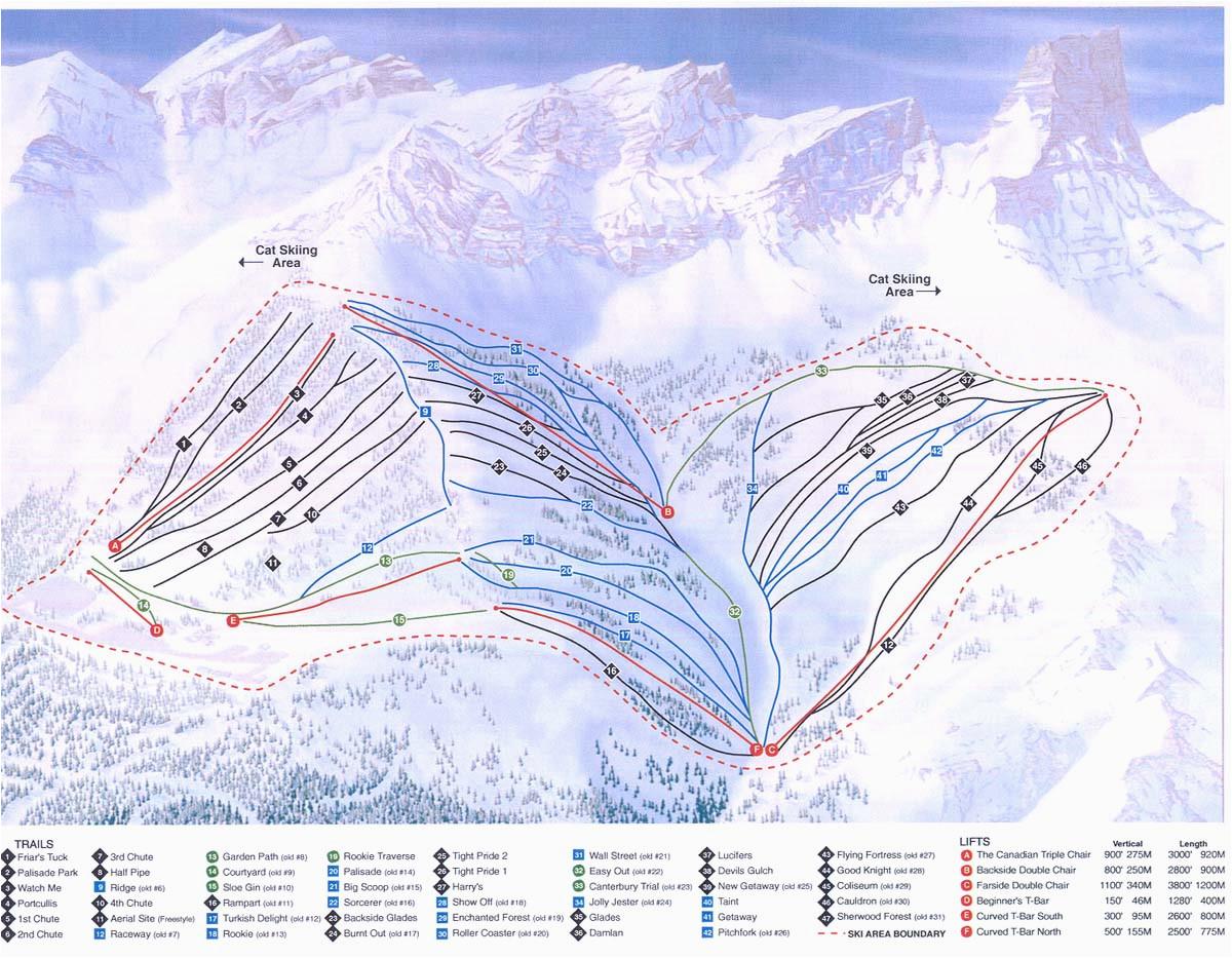 fortress snowridge skimap org
