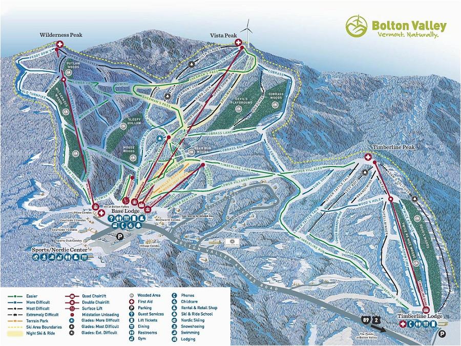 Ski Resorts In New England Map the Best Ski Snowboard Resorts In Vermont Evo