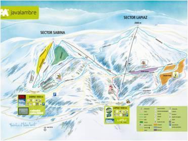 Ski Resorts In Spain Map Ski Resorts Teruel Skiing In the Province Of Teruel