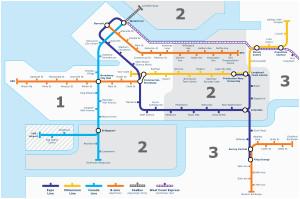 Skytrain Canada Line Map Canada Line Wikivisually
