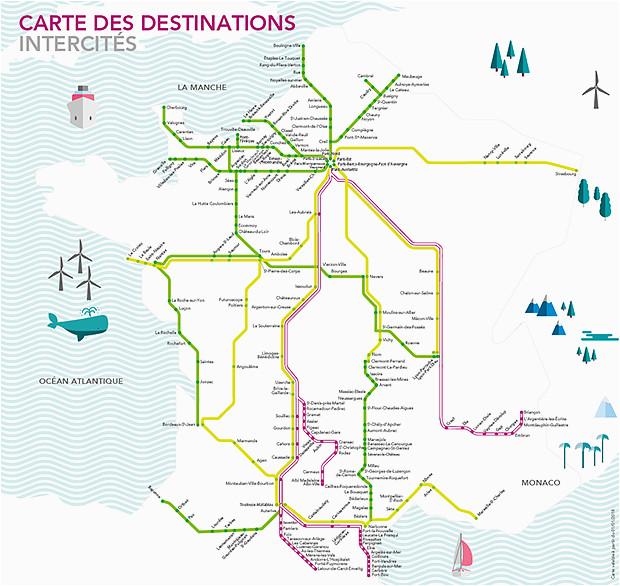 texpertis com map of southern france elegant intercites