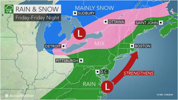 stormy weather to lash northeast with rain wind and snow at