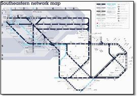 south eastern train rail maps