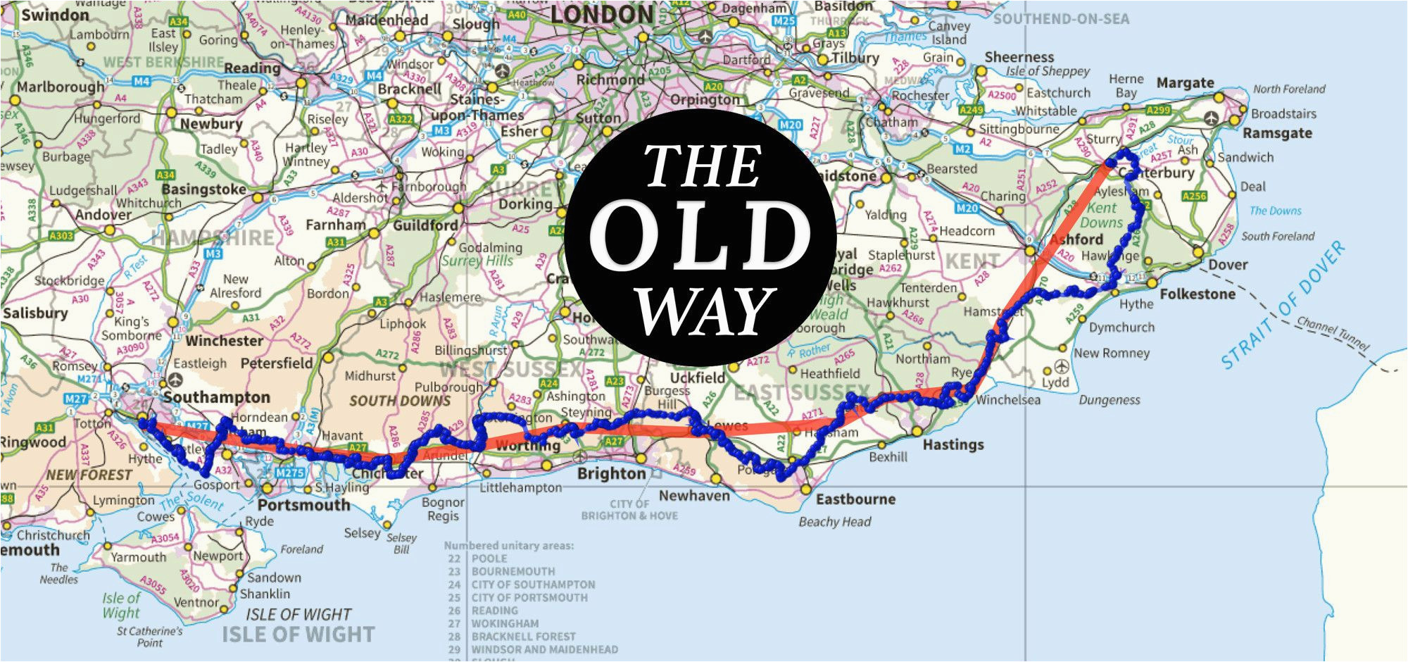 the old way to canterbury the british pilgrimage trust