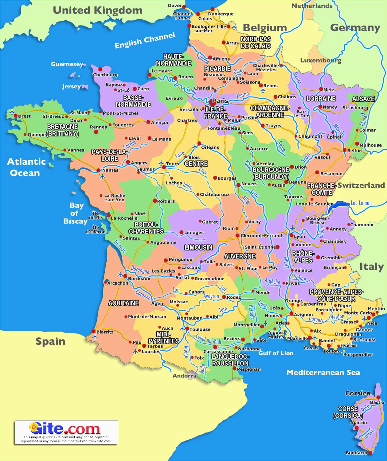 guide to places to go in france south of france and provence