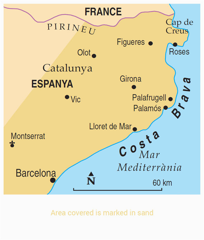 map of costa brave and travel information download free
