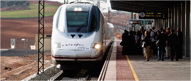 spanish high speed rail network ineco