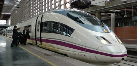 ave s103 high speed trains