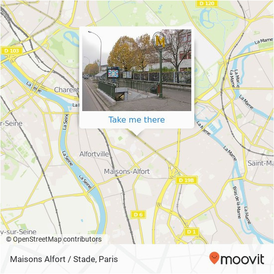 how to get to maisons alfort stade in maisons alfort by