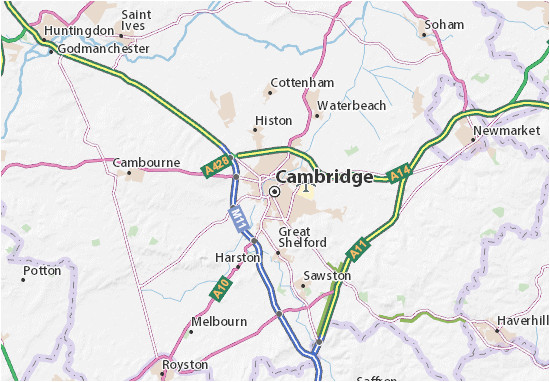 cambridge map detailed maps for the city of cambridge