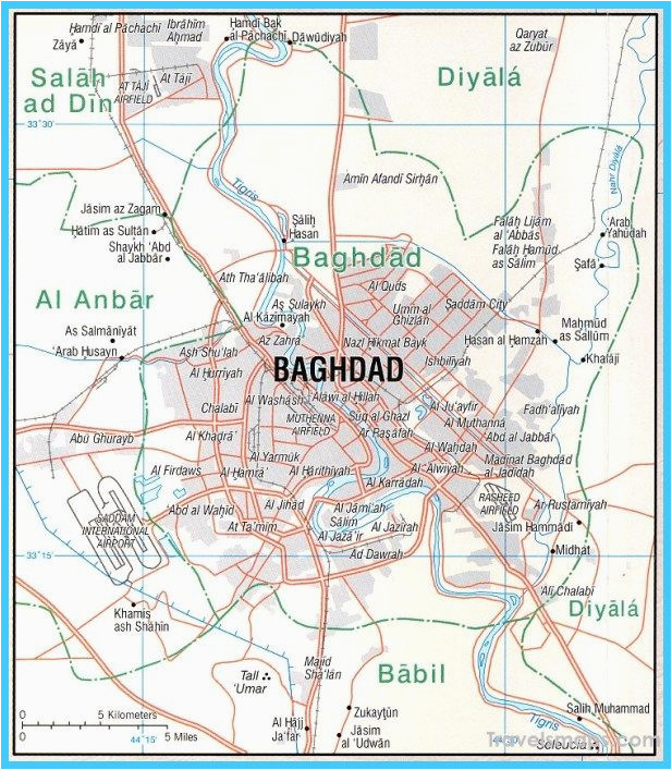 nice map of baghdad travelsmaps in 2019 baghdad map travel maps