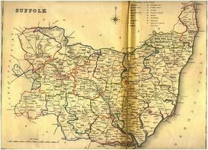 suffolk maps genealogy familysearch wiki