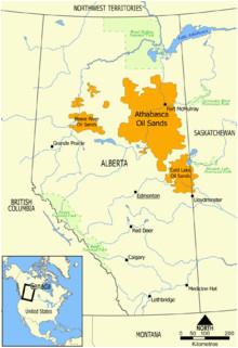 Tar Sands Canada Map A Lsand Wikipedia