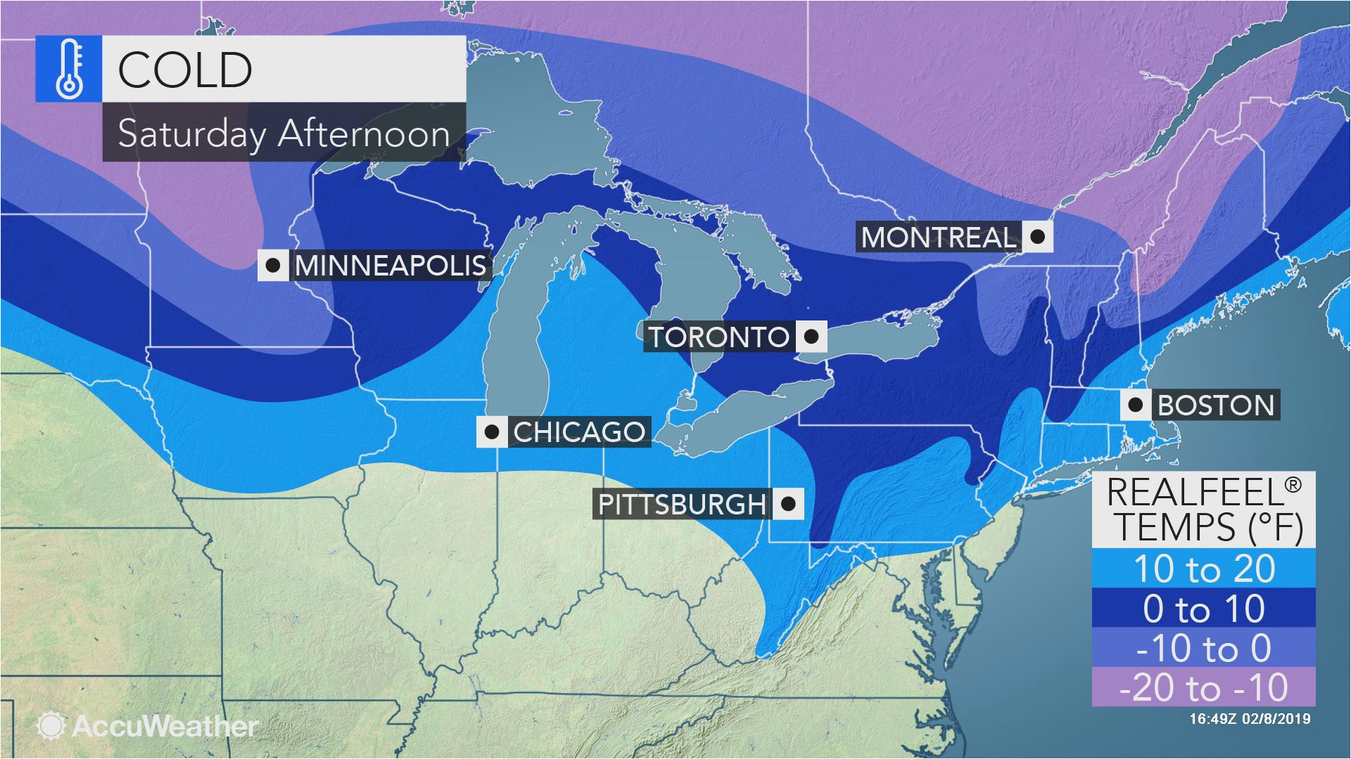 cold blustery weather to spread over northeastern us through saturday