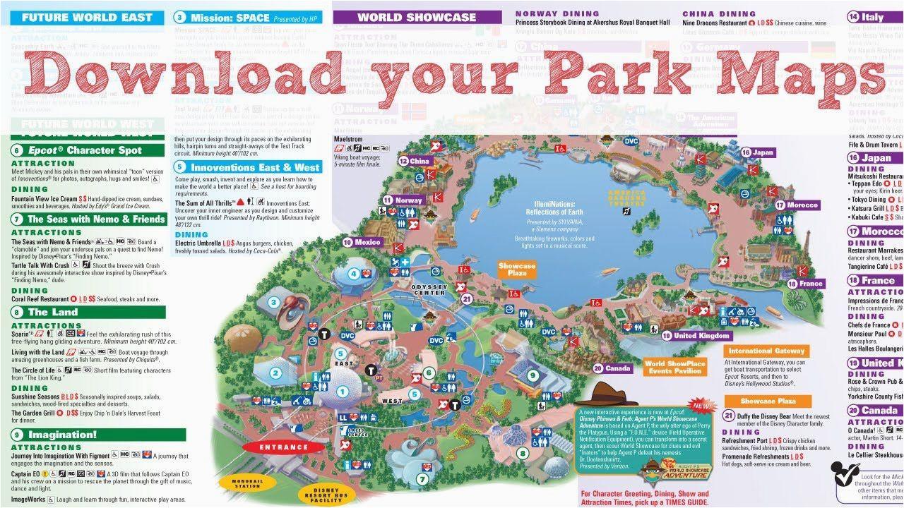 pin by dawn e c on travel theme parks disney world map disney